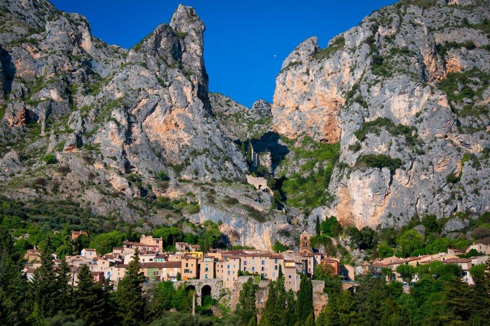 Moustiers-Sainte-Marie,  Alpes-de-Haute-Provence