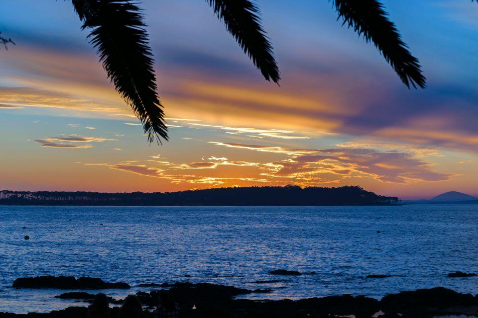 Los preciosos atardeceres en la isla