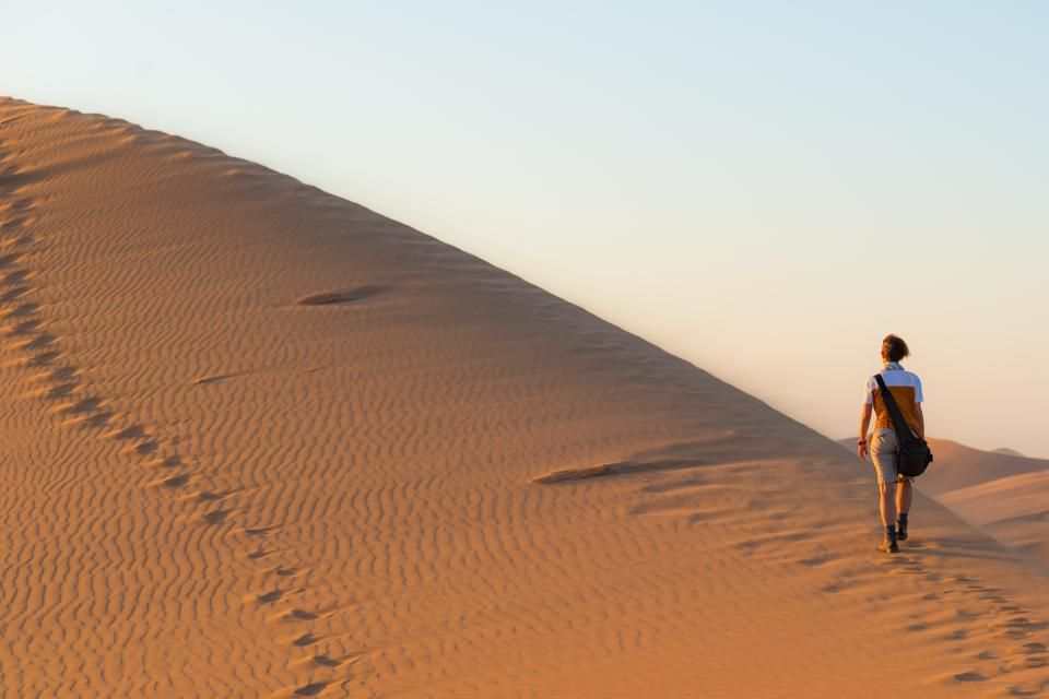Namib-Wüste in Namibia, südliches Afrika