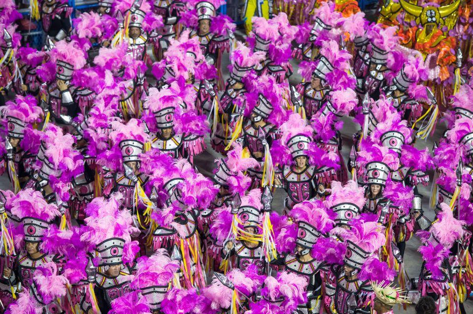 Le carnaval au Brésil