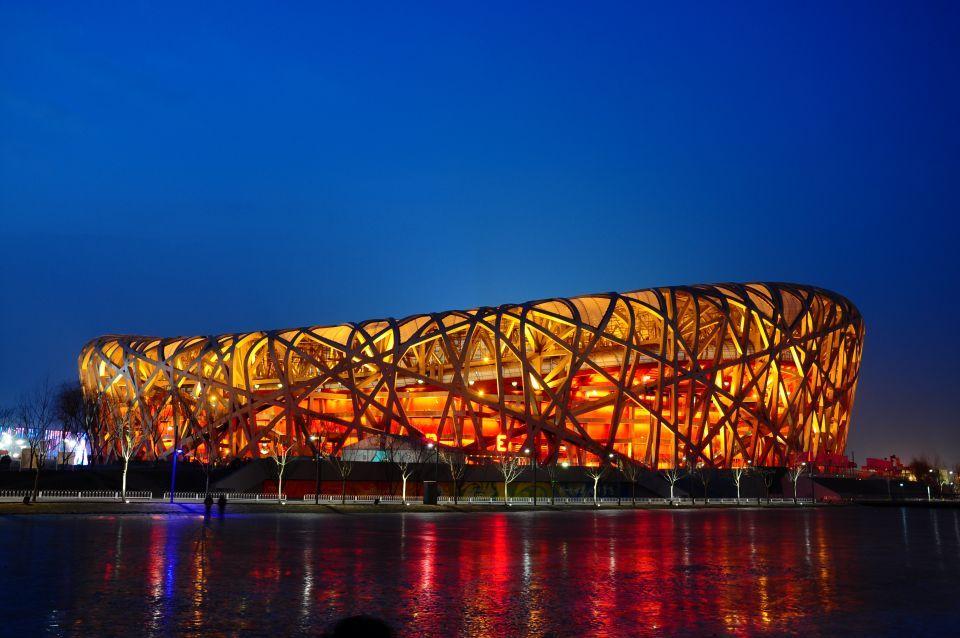 Estadio Nacional Nido de Pájaro, Beijing, China