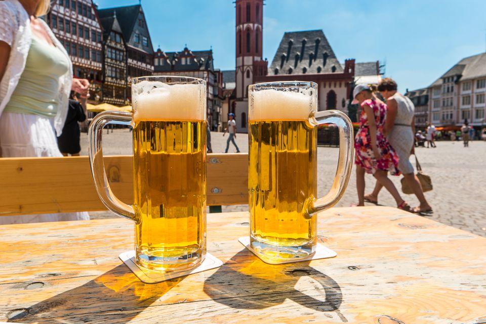 Chopes de bières à Francfort