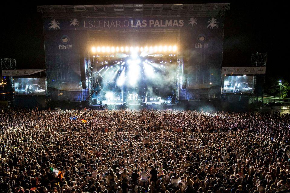 Festival de Benicássim, Espagne
