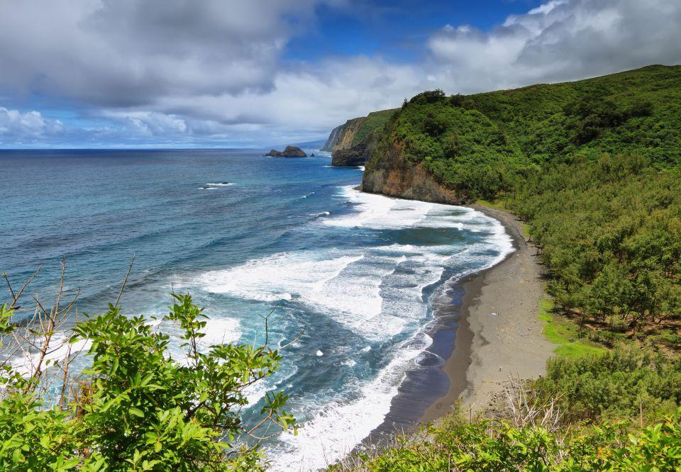 Waipio Beach, Hawaï