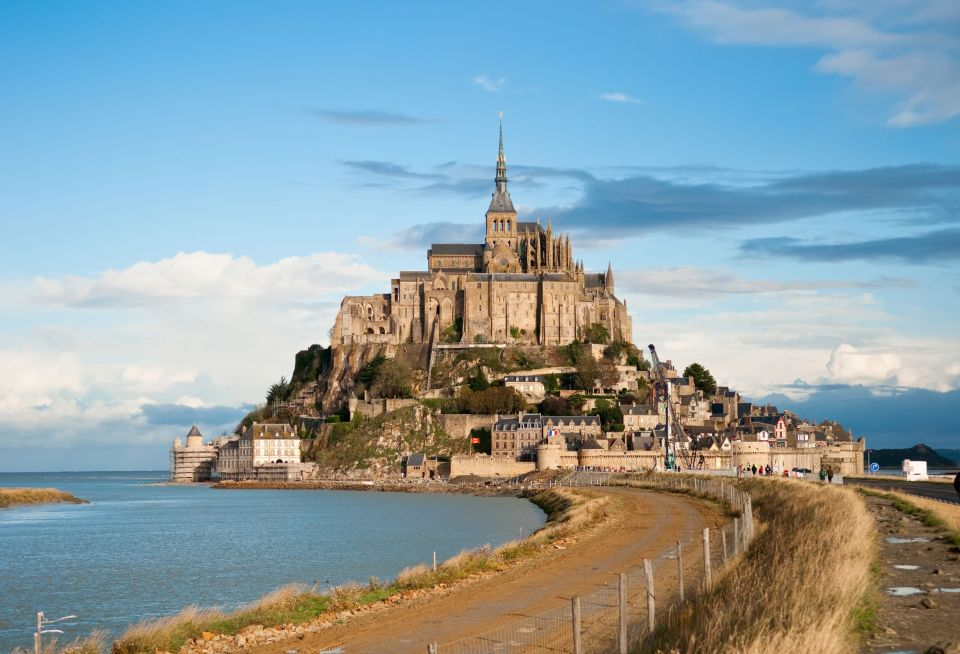 3- Le Mont Saint-Michel, France