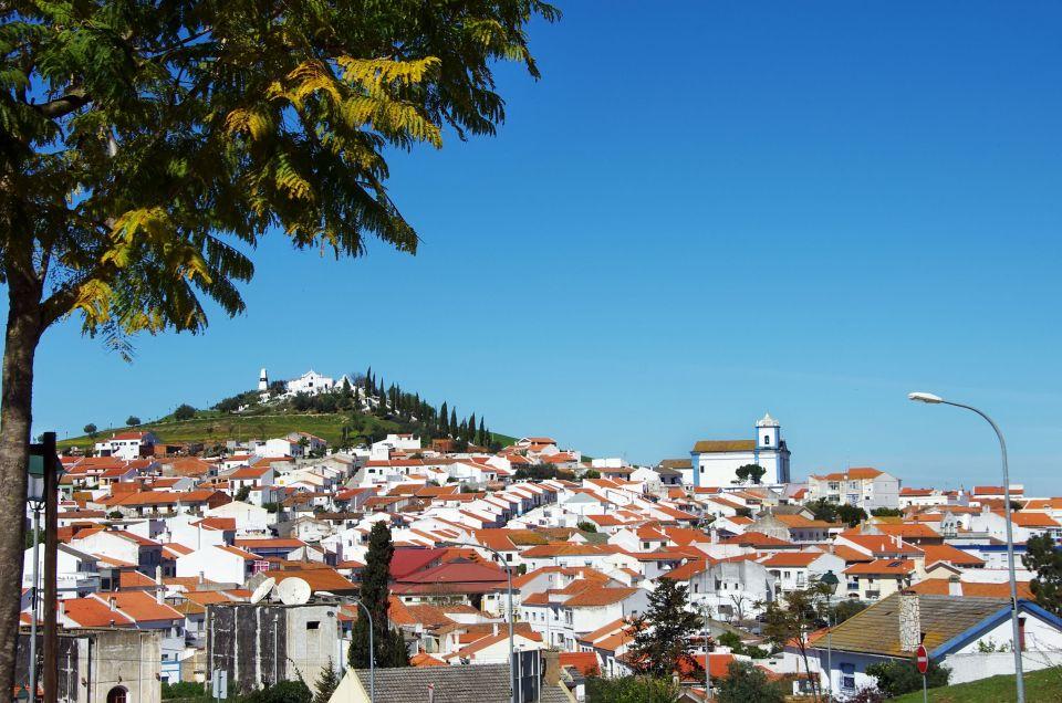 La hermosa ciudad de Aljustrel