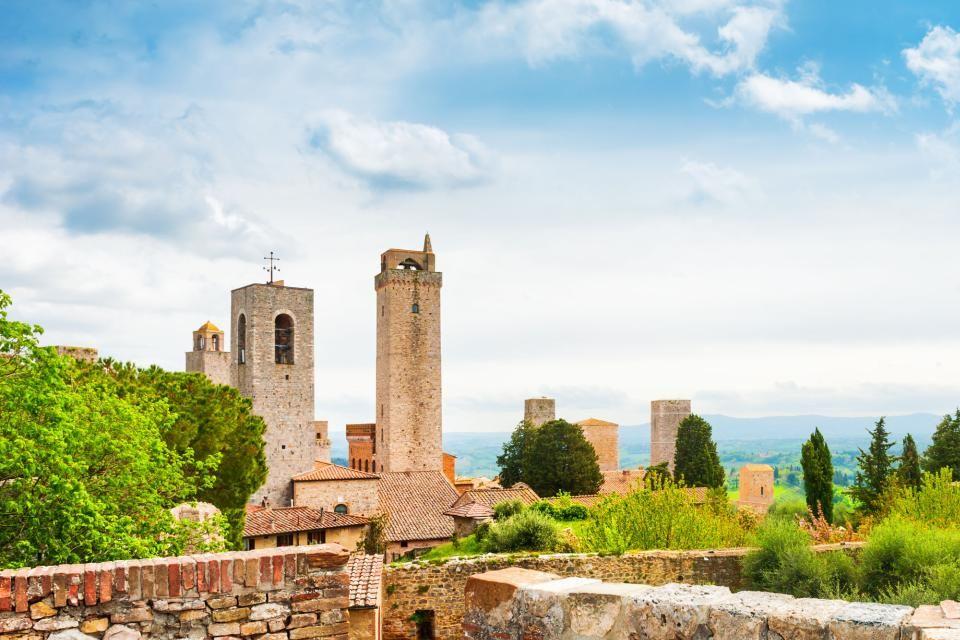 4- San Gimignano.