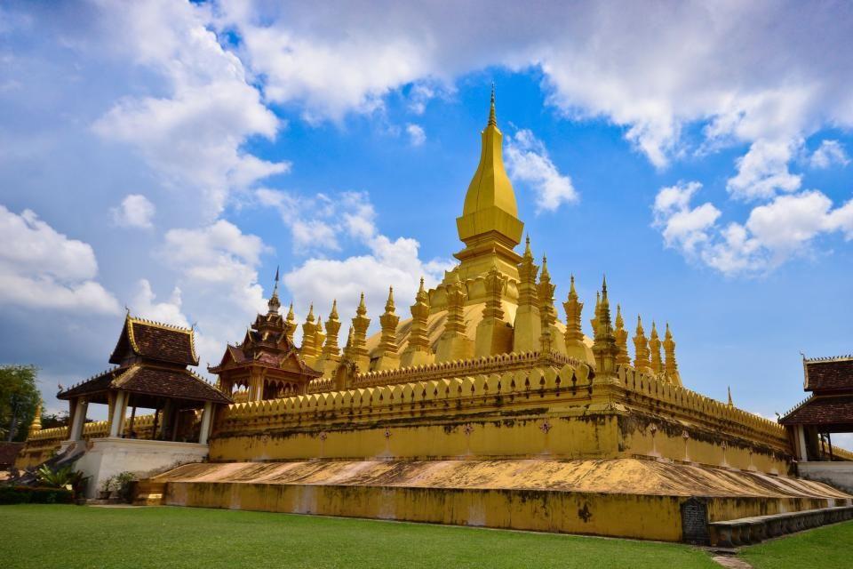 3-Pha That Luang, Vientián (Laos).