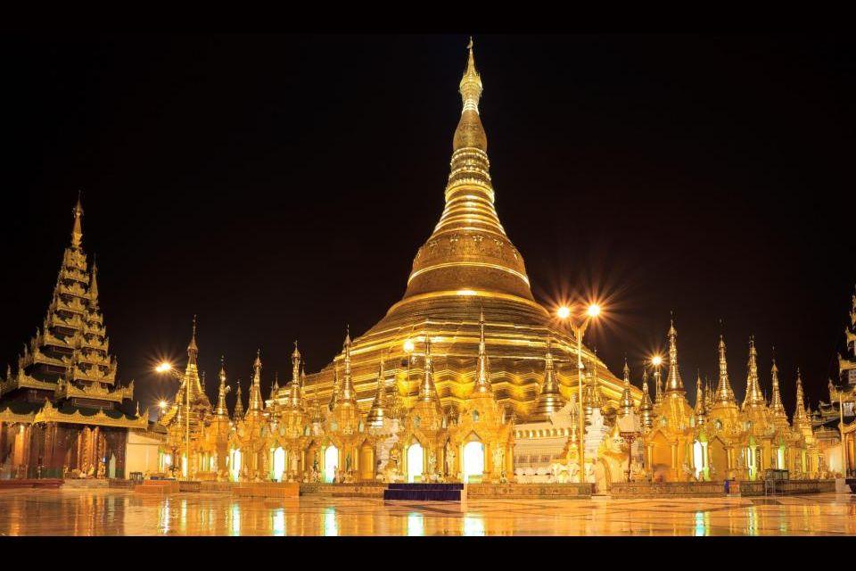 5-Shwedagon Pagoda, Yangon (Birmania).