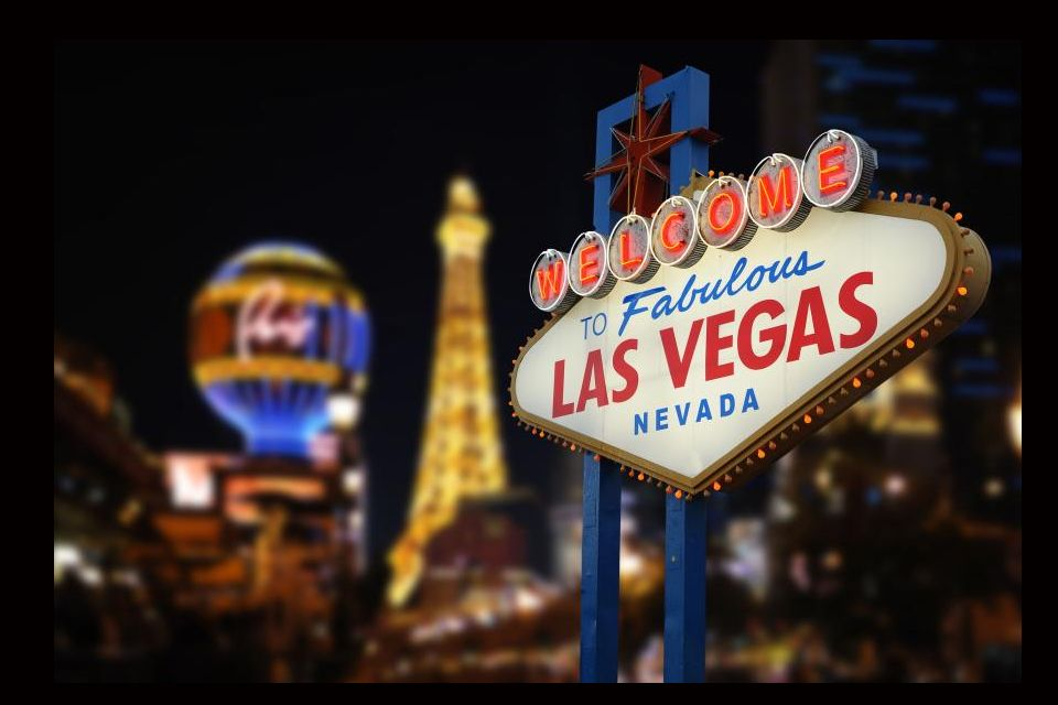 3- <i>Welcome to Fabulous Las Vegas.</i>