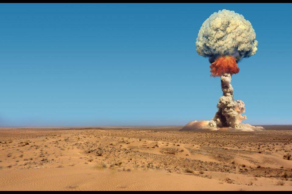 4- Destino ideal para probar bombas atómicas.