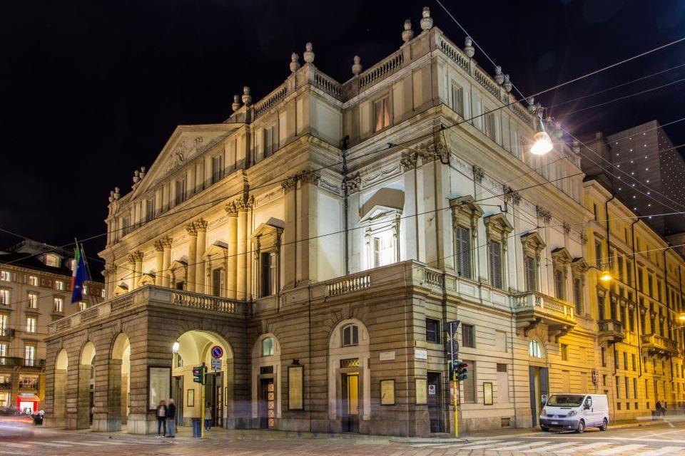 1- Teatro de La Scala, Milán, Italia.