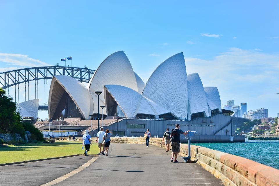 2- La ópera de Sídney, Australia.