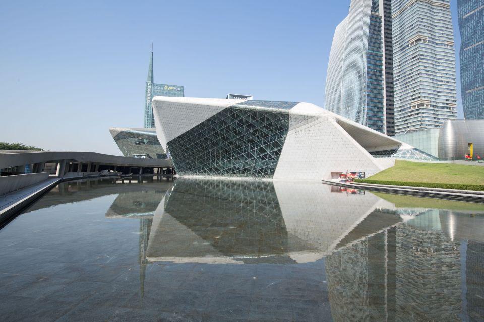 4- Casa de la Ópera Guangzhou, Guangzhou, China.