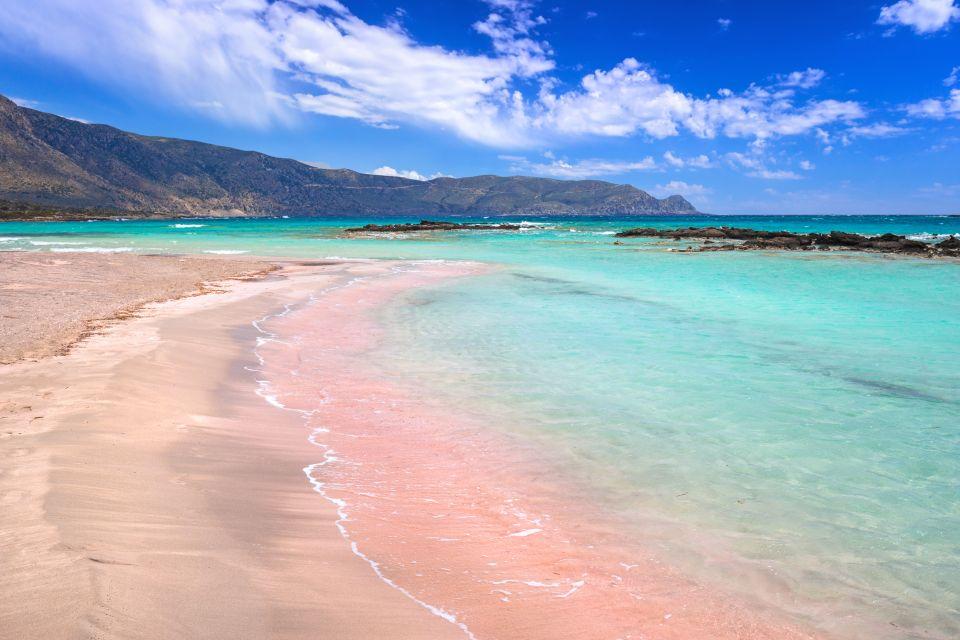 2-La plage rose d'Elafonissi, Crète