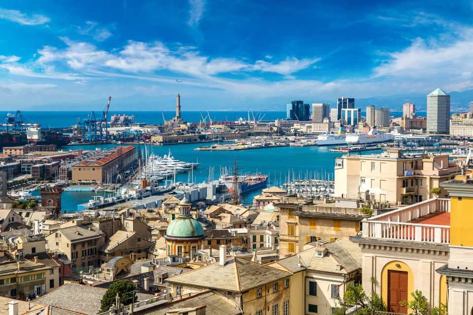 Arrivée à Gênes