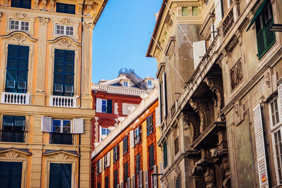 Les palais de la Via Garibaldi