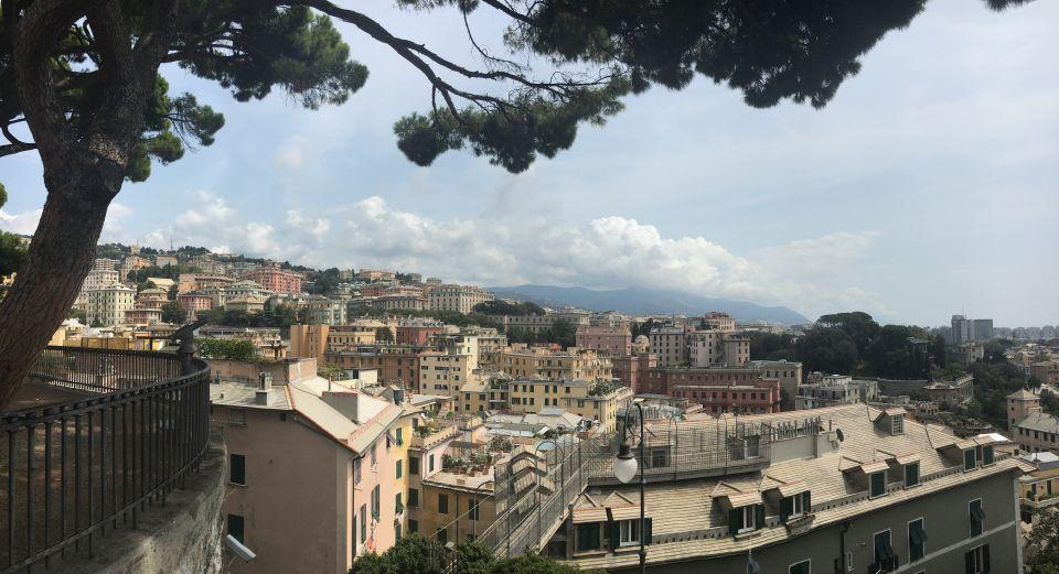 Les hauteurs de Gênes