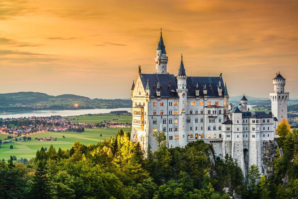 3. El castillo de Neuschwanstein, Baviera