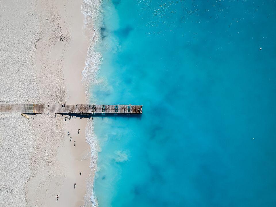 1. Grace Bay, Providenciales, Turks- und Caicoinseln