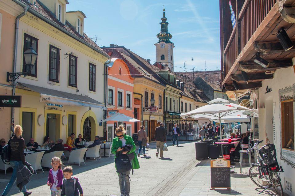 3-Zagreb et ses quartiers