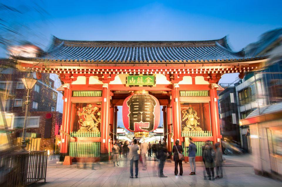 Porta del Tuono, Asakusa