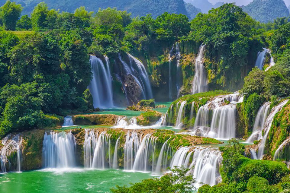 2- Cataratas Ban Gioc Detian, China y Vietnam.