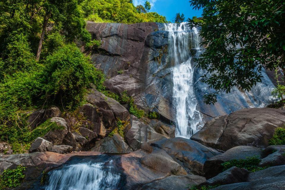 3- Cascada de Temurun, Malasia.