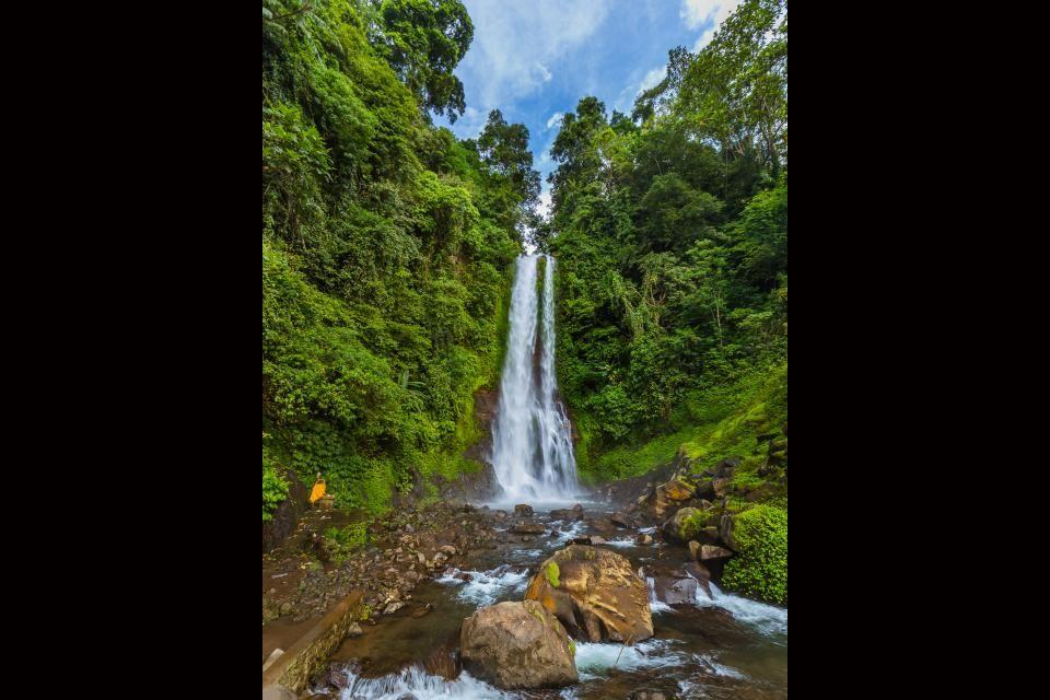 4- Cascada Gitgit, Bali.