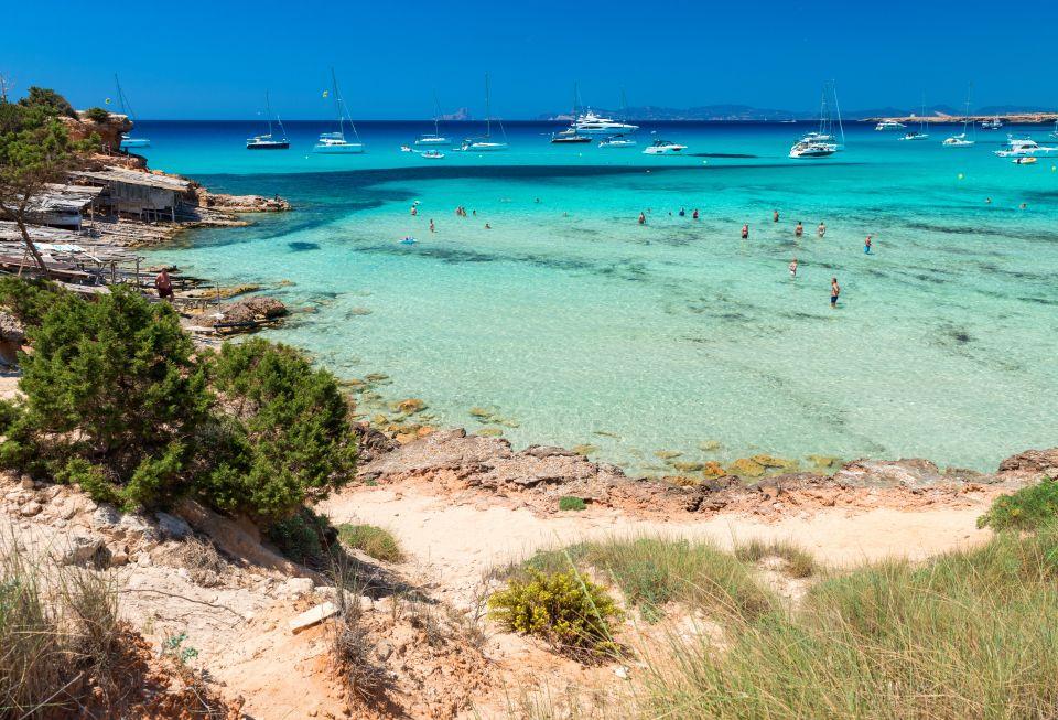 Une plage de rêve à Formentera