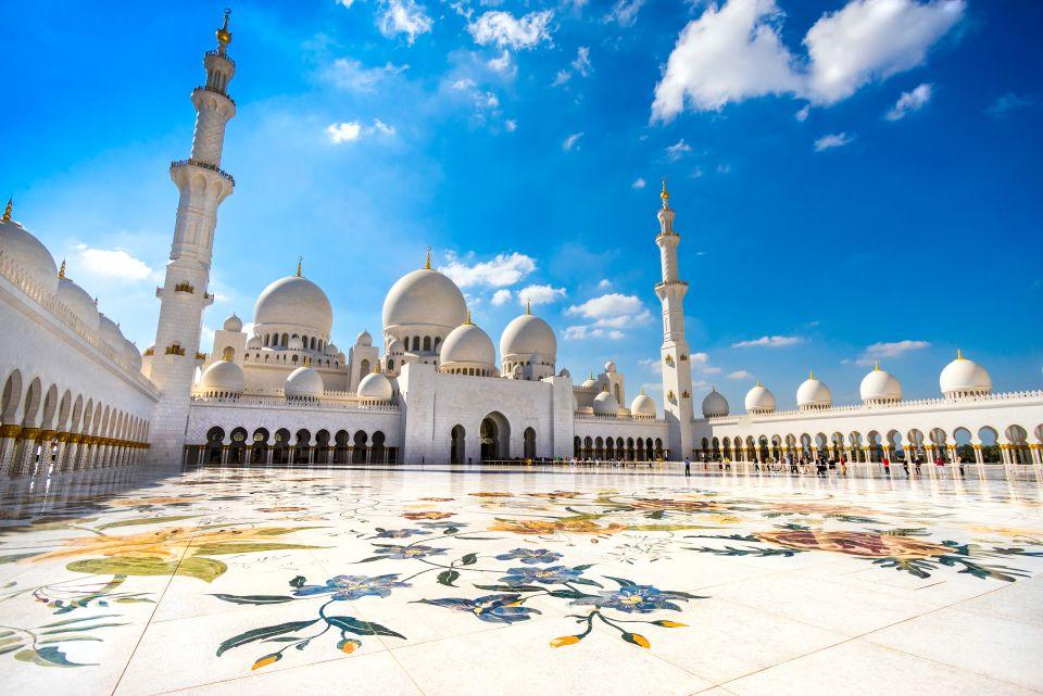 3. Mezquita Sheikh Zayed de Abu Dhabi