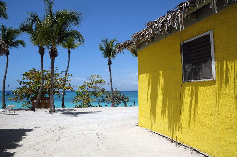 C'est une maison jaune, on y vient à pied...