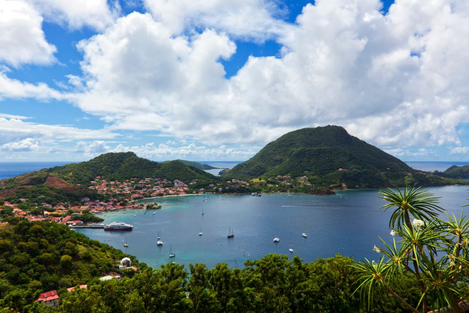 Die Bucht von den  Inseln des Saintes in Guadeloupe