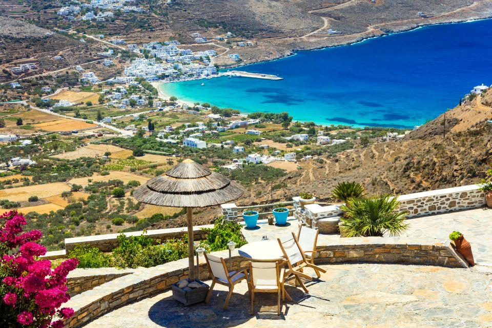 Terrazza panoramica di Amorgos
