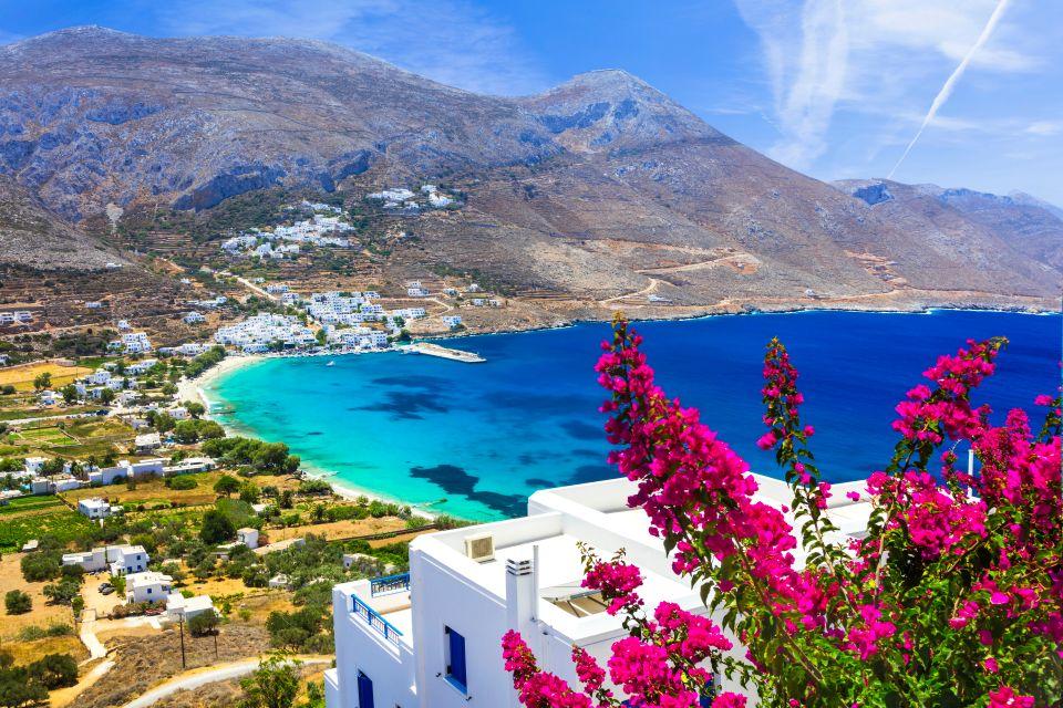 L'isola di Amorgos in Grecia