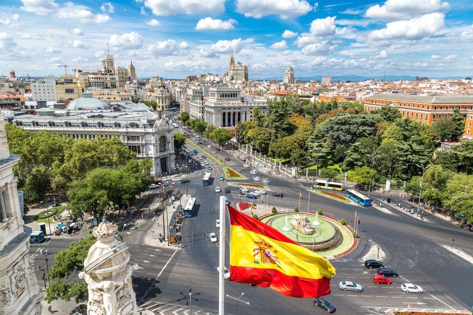 Les capitales : Madrid (Espagne)