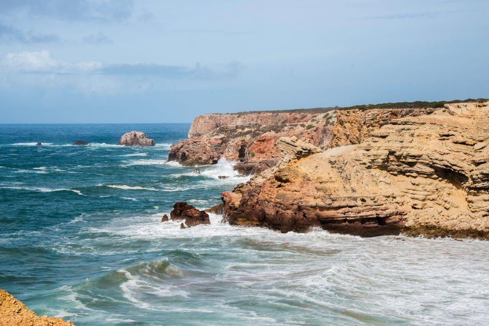 Les côtes : l'océan Atlantique (Porutgal)