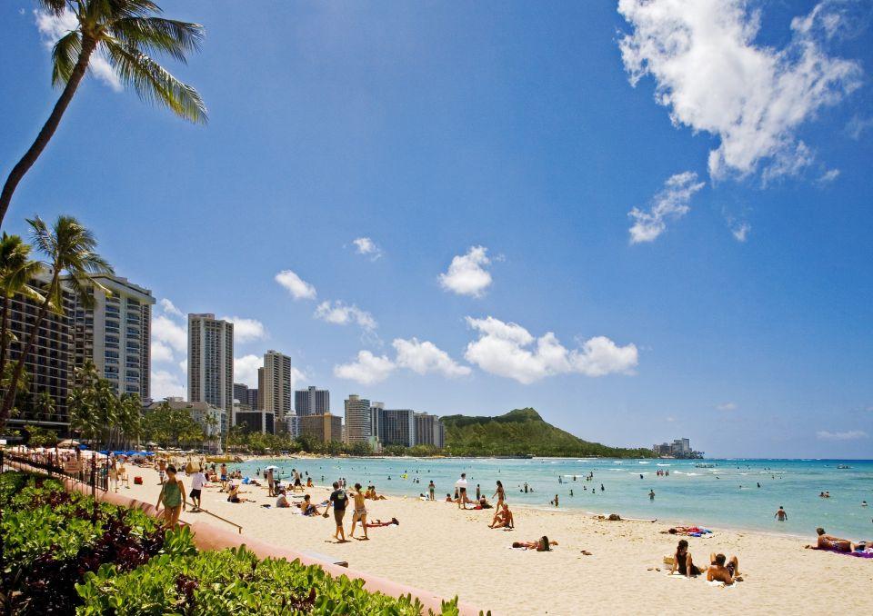 5. Waikiki, Hawai
