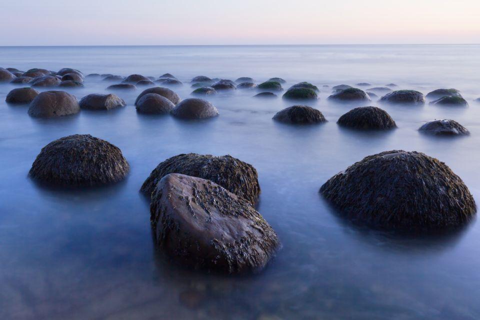 1. Bowling Ball Beach, California.