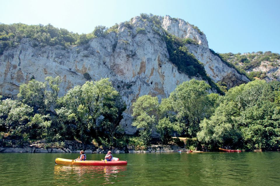 Canoe in the Gorges of Chassezac