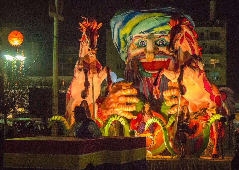 The carnival city: Patras