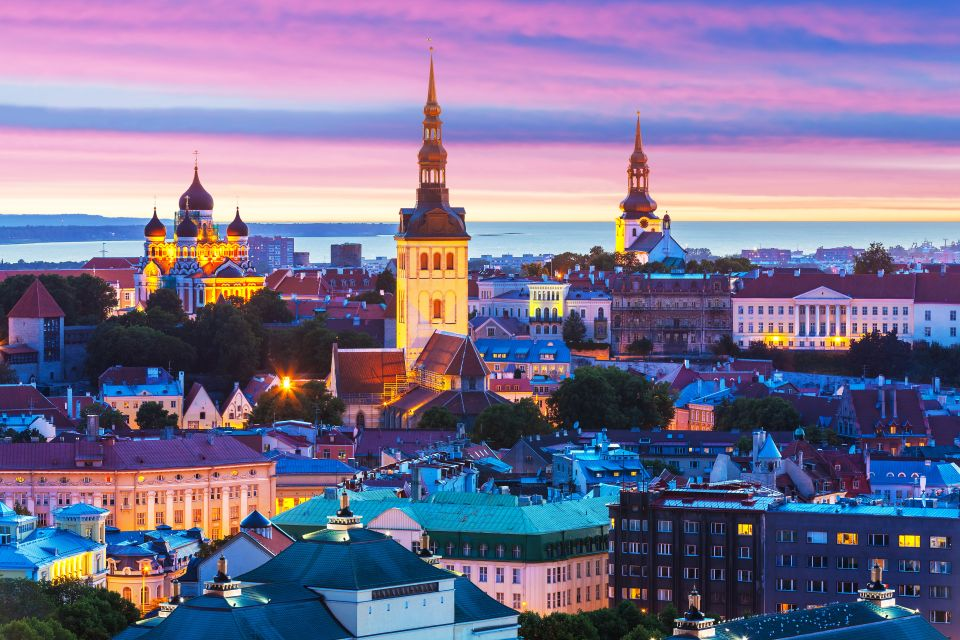 A blend of old and new: Tallin