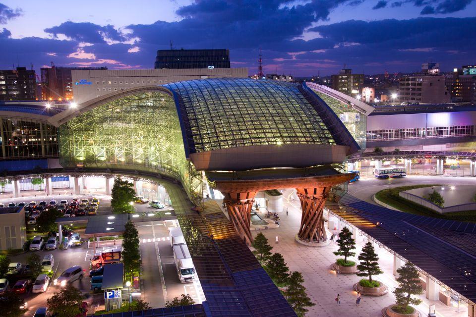 La gare ultra moderne de Kanazawa