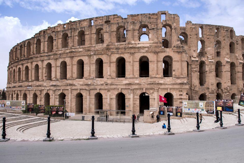 L'immense amphithéâtre d'El Jem