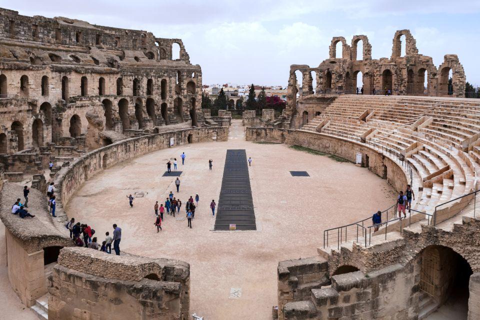 L'arène ovale d'El Jem