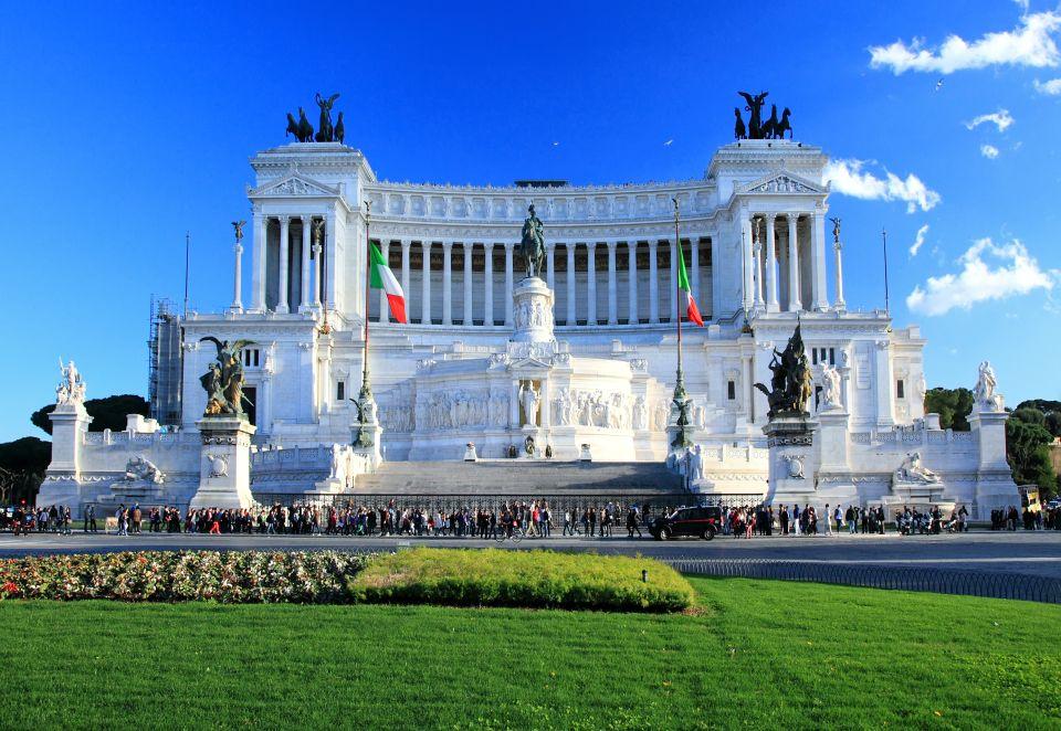 Il Vittoriano o Altare della Patria (ITALIA)