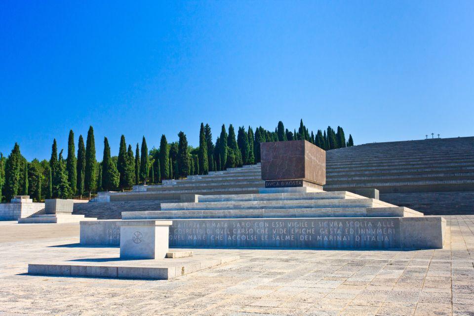 Il sacrario militare di Redipuglia (ITALIA)