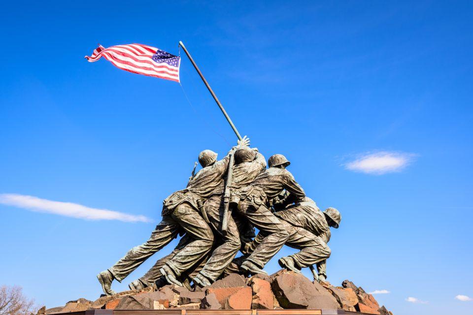 Il memoriale dei caduti a Iwo Jima (STATI UNITI)