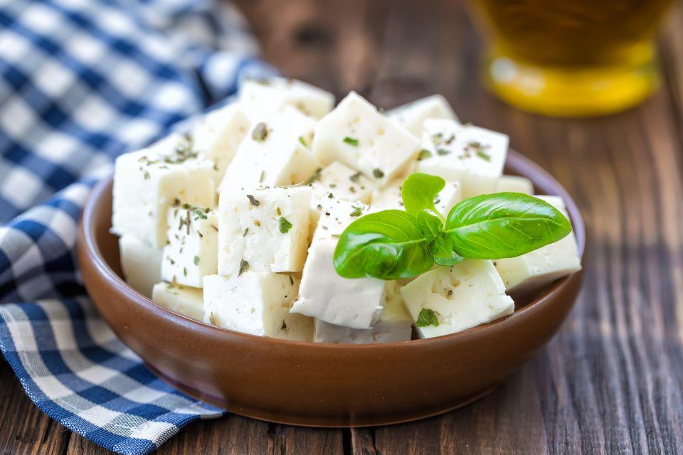 Liebe für Feta-Käse