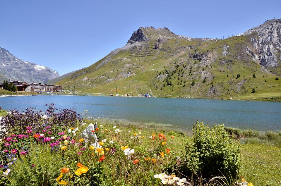 Lac du Chardonnet à Tignes (France)